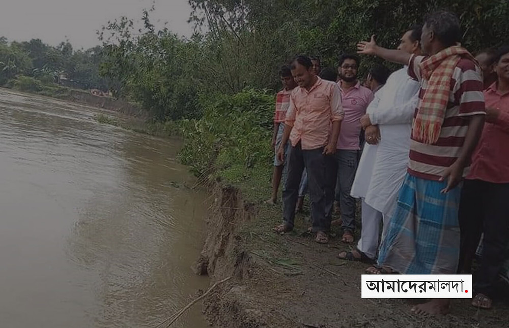 After Ganges and Fulhar, Panic of eruption in Mahananda