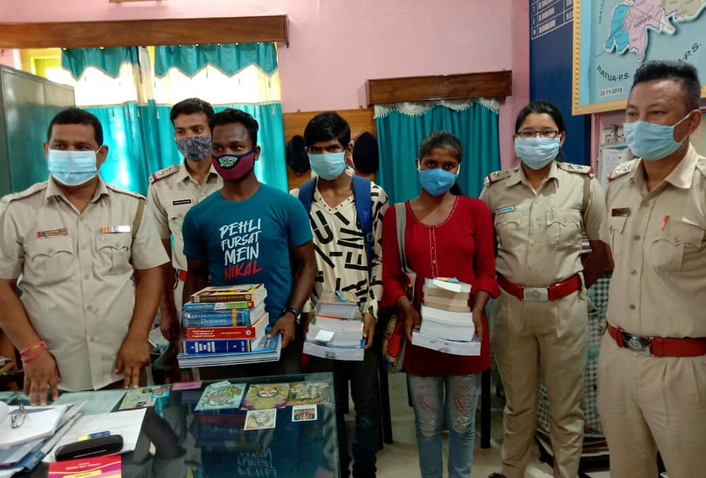 Chanchal police help three poor students