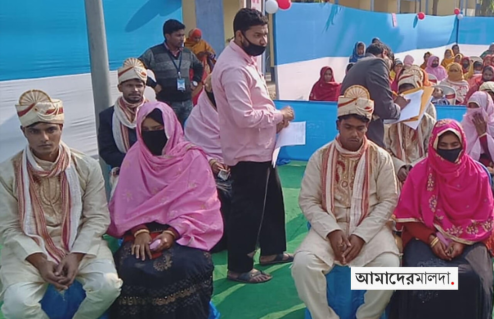 38 Malda couples marry in mass ceremony