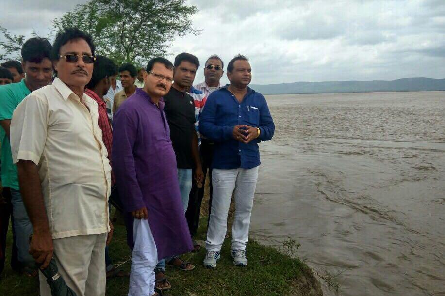 Md. Mottakin Alam visit at Bhutni Char