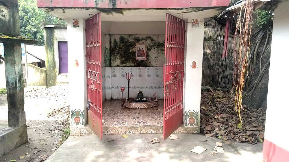 Thieves Enter Two temples in Chanchal Paharpur last night