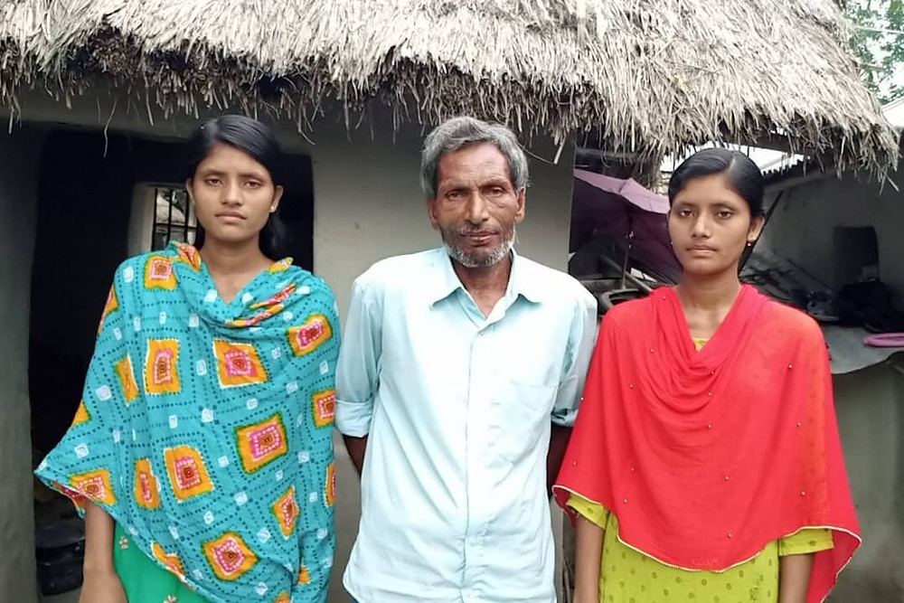SUCCESS OF TWIN SISTER IN HS EXAM