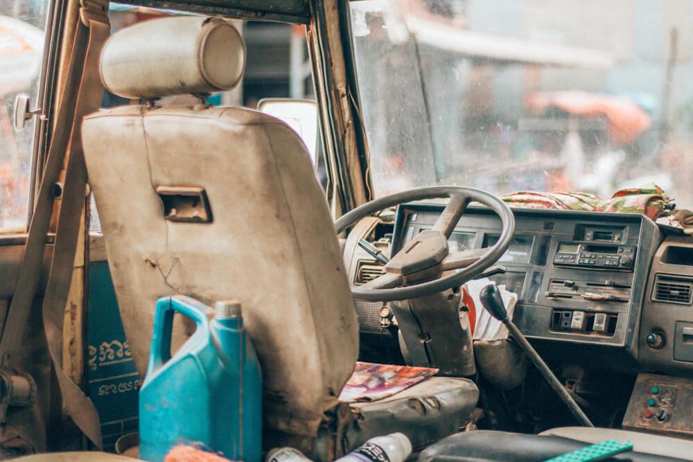 Bus Driver found dead in English Bazar