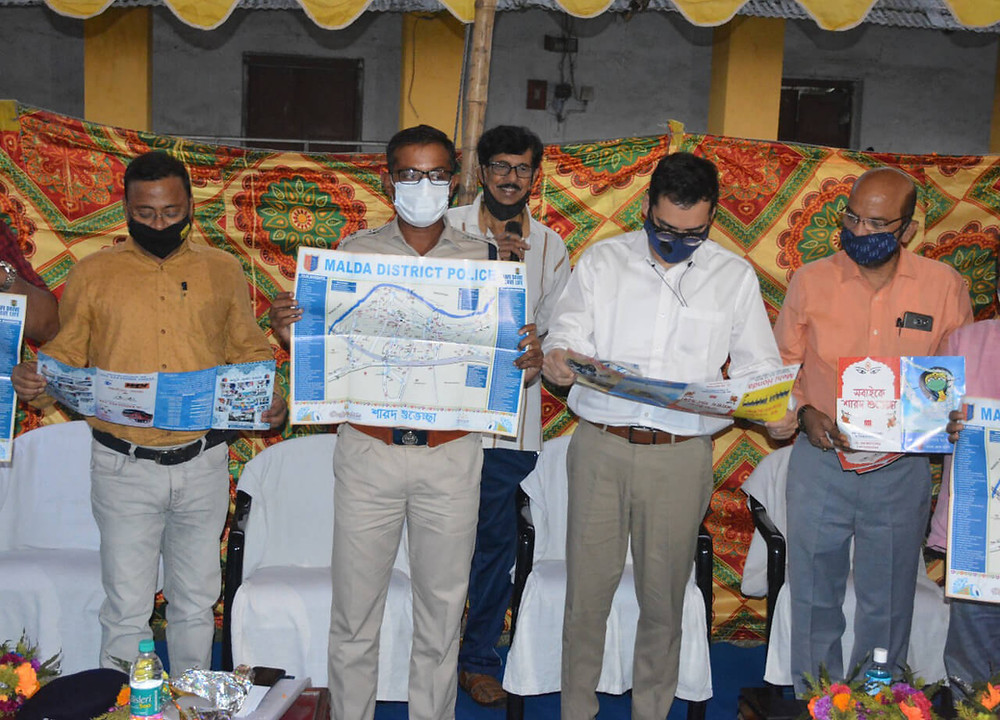 Pujo Guide 2020 was published by Malda district administration