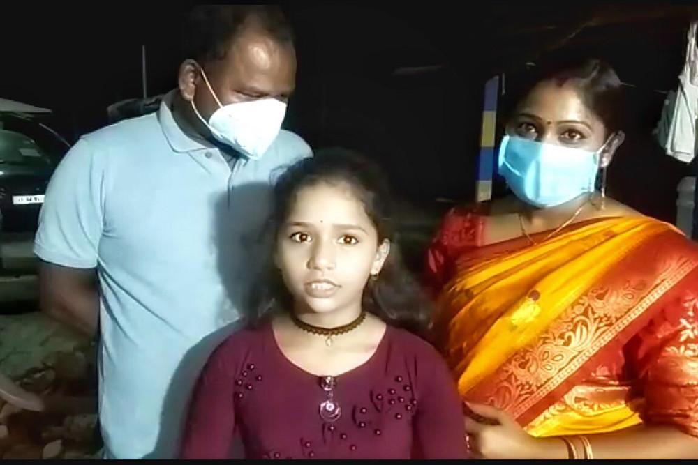 Birthday Girl distributes food among migrant workers