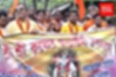 জন্মাষ্টমীতে হিন্দু-মুসলিমের মিছিলে পা মেলাল সব রাজনৈতিক দল