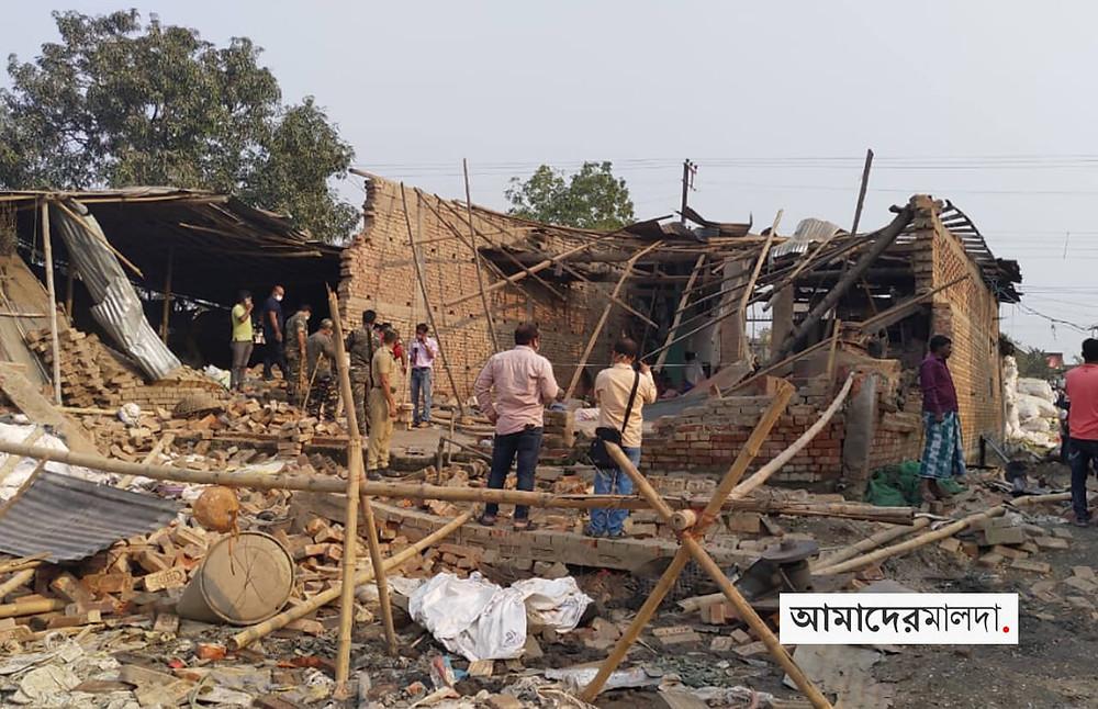Sujapur Plastic Factory Explosion