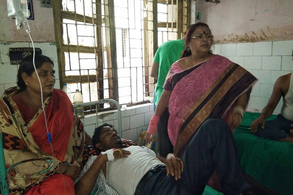 Road accident death at the end of TMC conference
