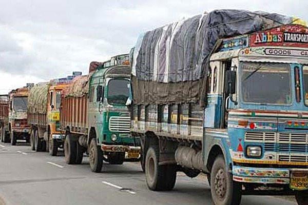 Blockade the international trade route