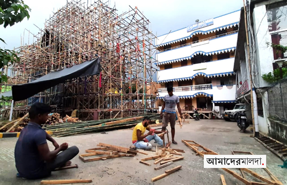 Economic slowdown has adversely impacted the Durga Puja