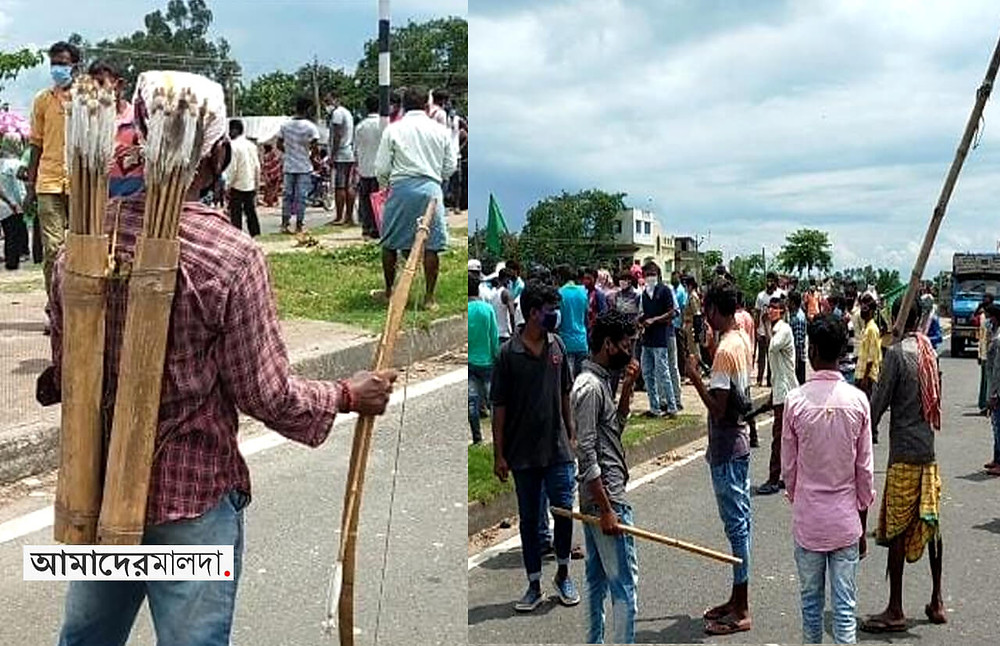 jharkhand-disom-party-protested-in-gazole