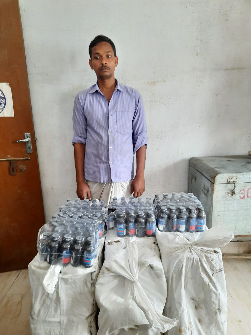 Huge amount of drugs seized in Malda