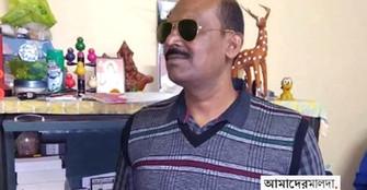 কফিনবন্দি দেহ ফিরল মালদায়, স্যালুট জানিয়ে শেষ শ্রদ্ধা পুলিশের