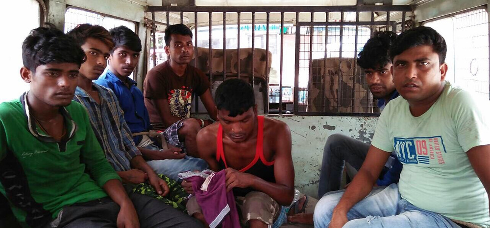 Dacoit arrested by English Bazar police