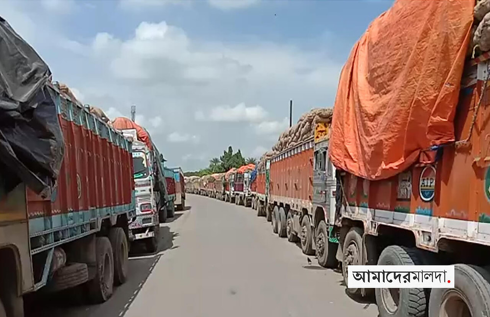Onion trucks halted at border finally allowed entering Bangladesh