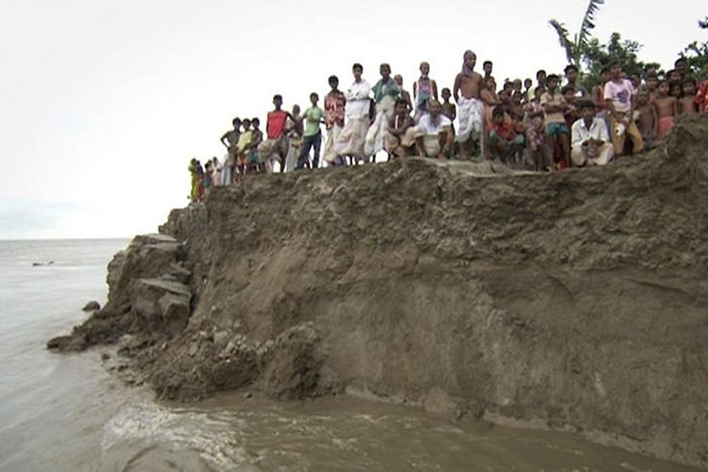 Ganga erosion