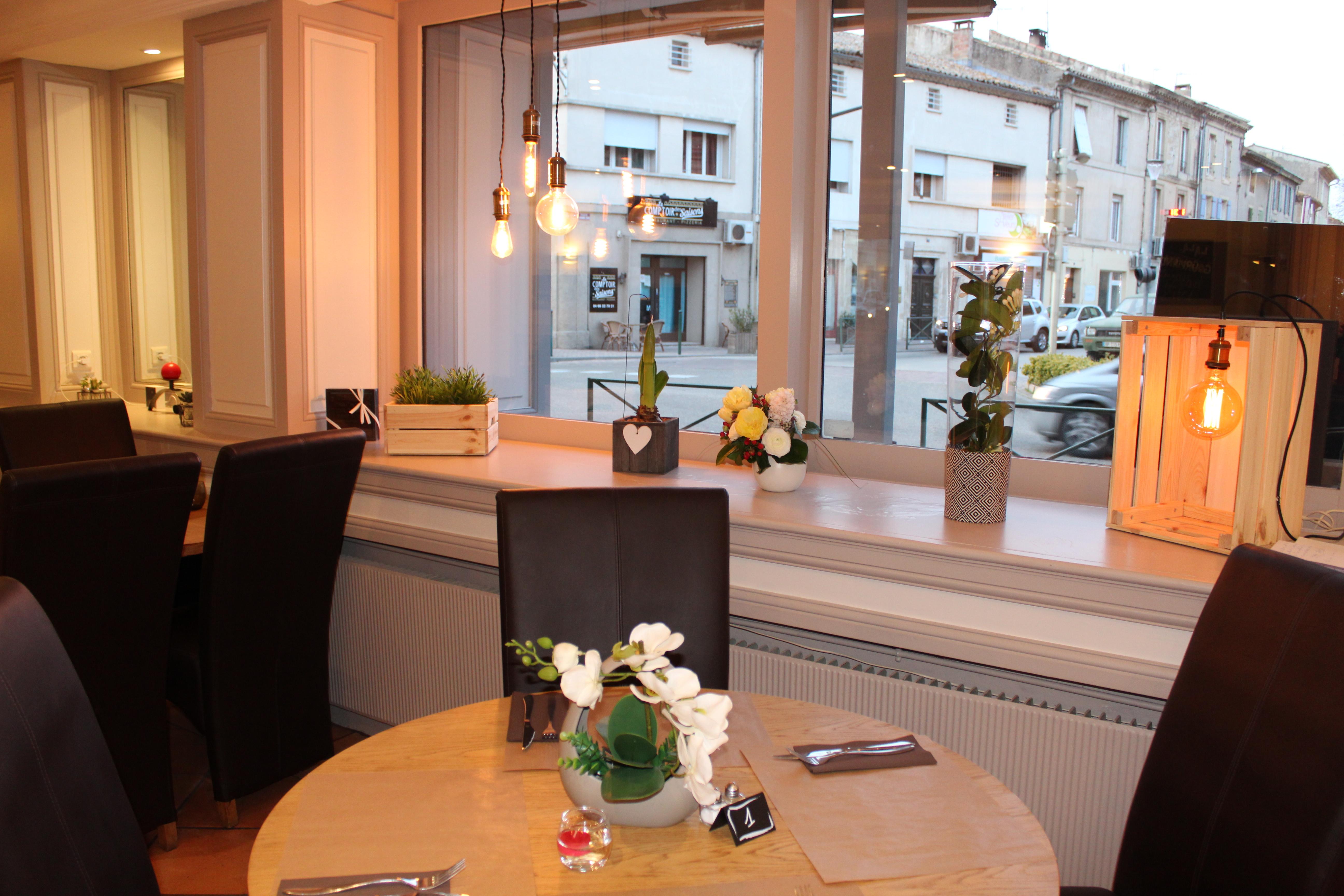 Restaurant Les Glycines Remoulins