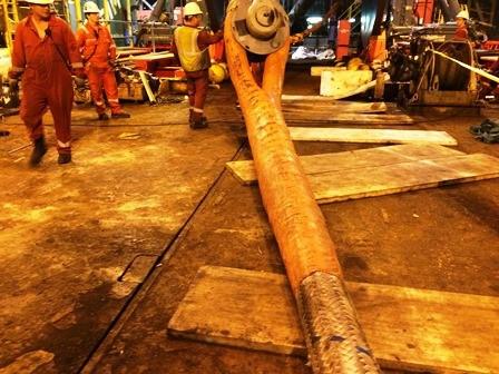 Inspeção de cabos e fabricação de extremidade de poliéster