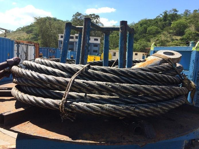 Processo de aduchamento para cabos com menores comprimentos