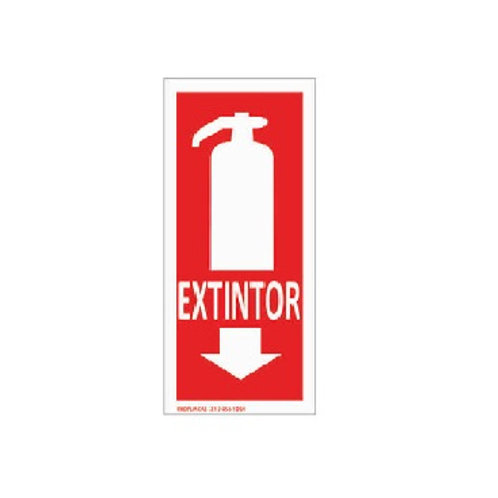 Placa - Extintor