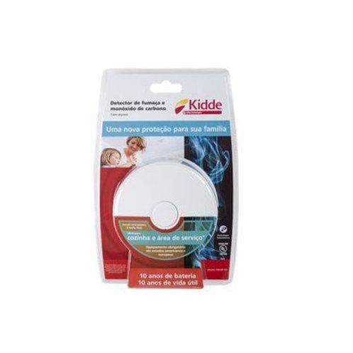 Detector de Fumaça e Gás Kidde p/Cozinha