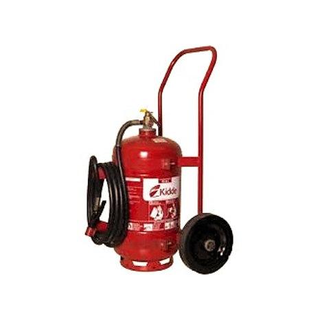 Extintor PQS BC 50kg - Sobre Rodas