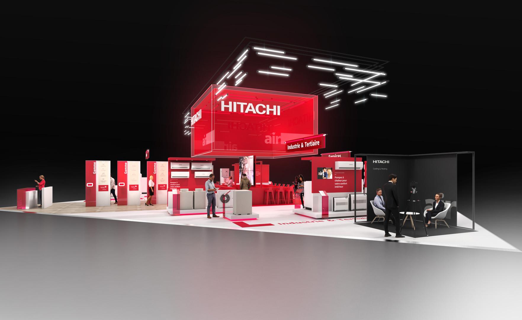 HITACHI - INTERCLIMA 2019 - VUE GENERALE