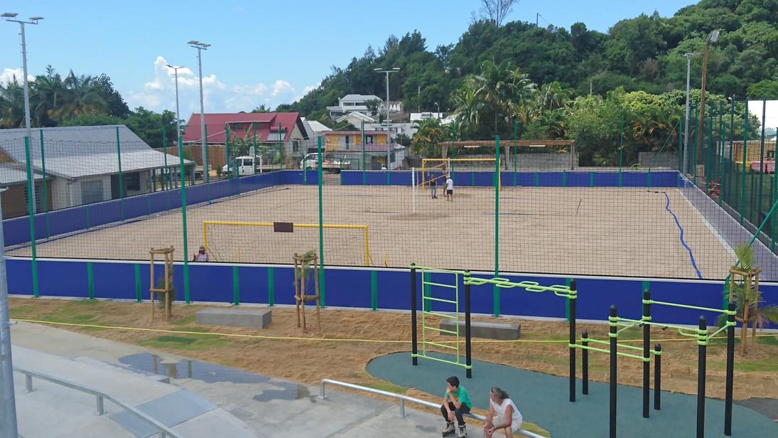 Complexe Sportif- Beach Foot Officiel 2010