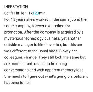 Infestation by Sam Tring