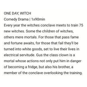 One Day, Witch by Sam Tring
