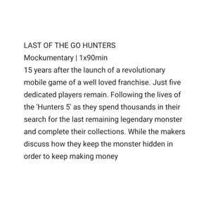 Last of the GO Hunters by Sam Tring