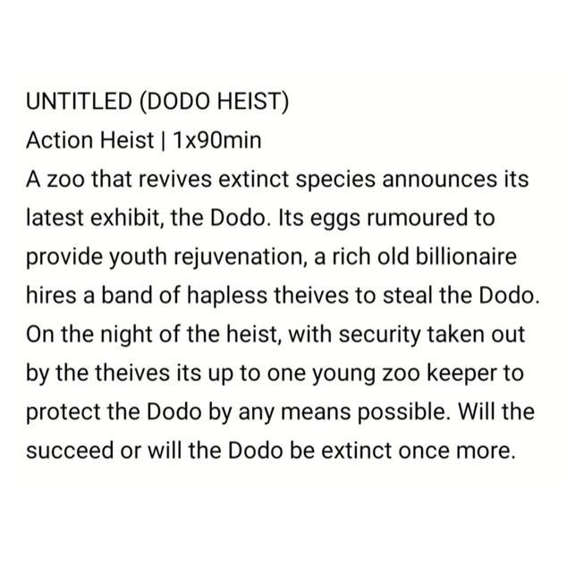 Dodo Heist by Sam Tring