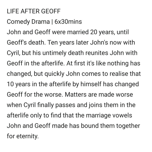 Life After Geoff by Sam Tring