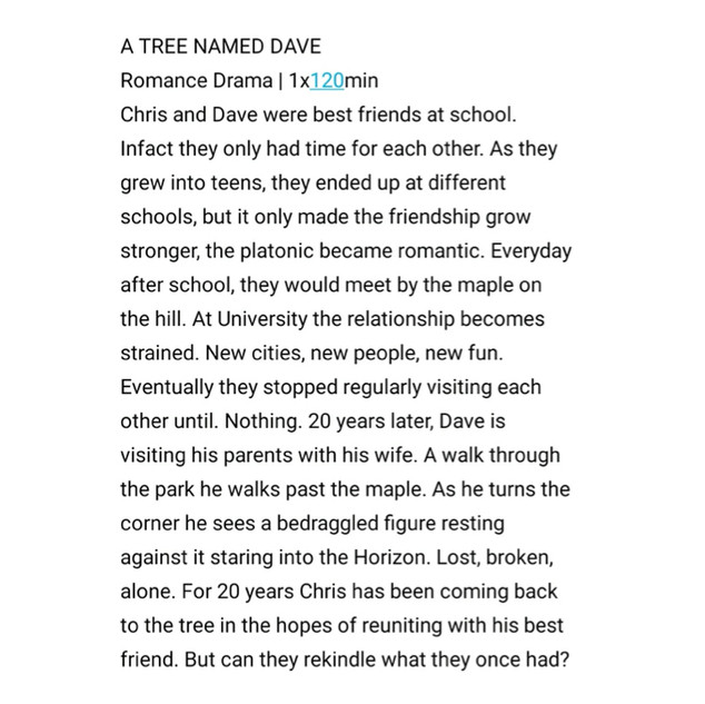 A Tree Named Dave by Sam Tring
