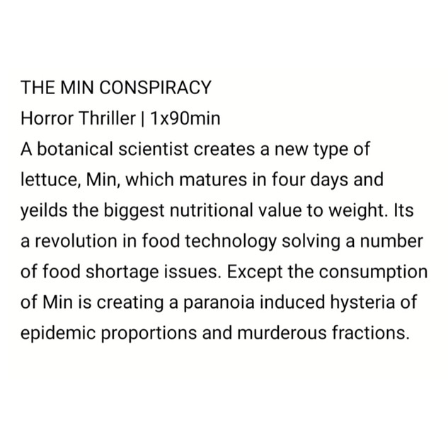 The Min Conspiracy by Sam Tring
