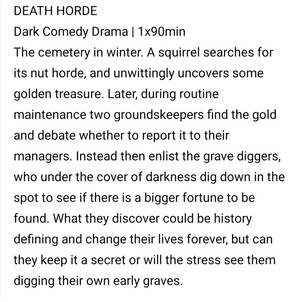 Death Horde by Sam Tring