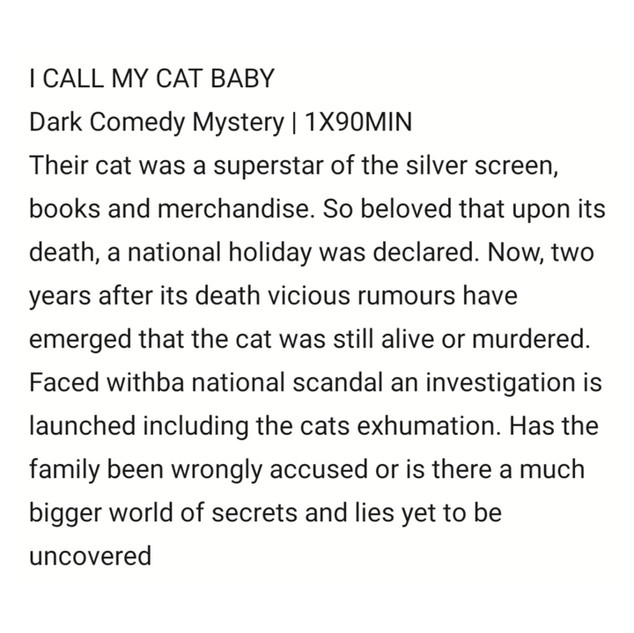I Cal My Cat Baby by Sam Tring