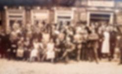 Gruppenbild um 1920