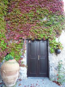 見張りの塔のお部屋の入り口