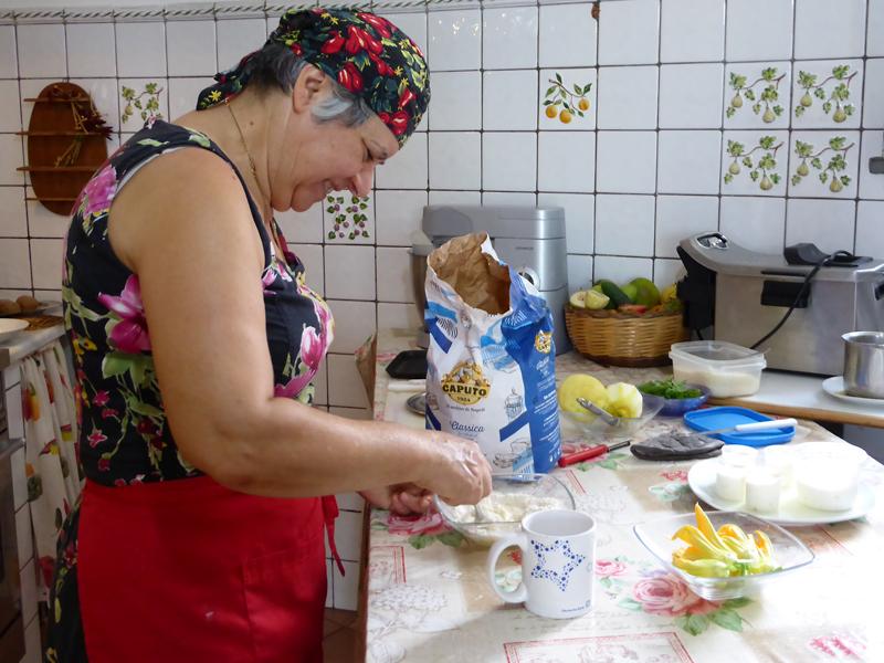 マンマの料理レッスンは、レモンを使ったレシピが人気