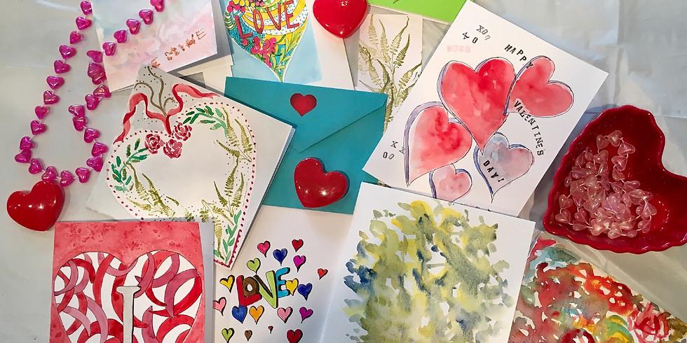 Creative Valentines Art Class