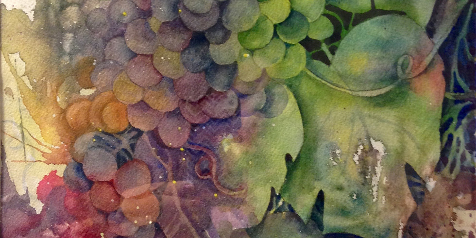 Watercolor Pouring Workshop 3 Sessions