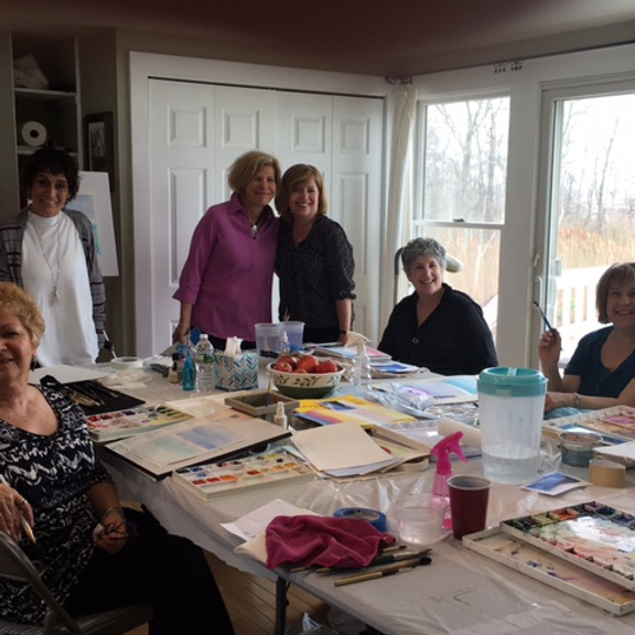 Group Watercolor Class