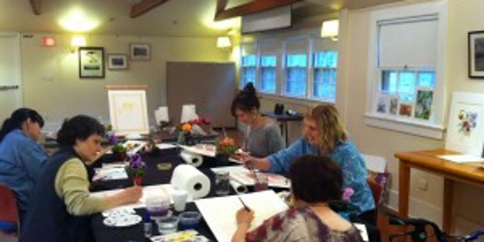Watercolor Classes Thurs. Mornings