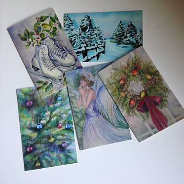 HOLIDAY ART Note Card Collection