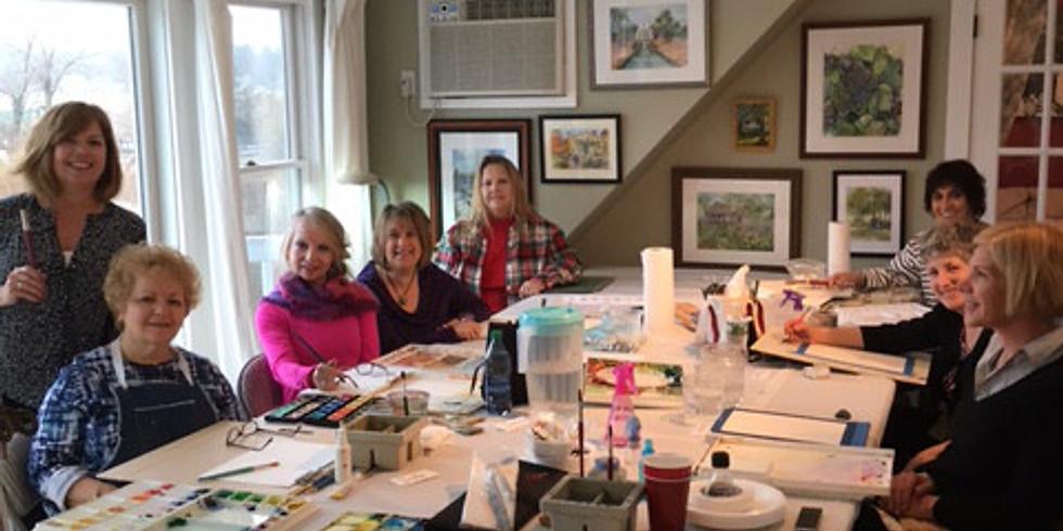 Watercolor Classes Thursday Evenings