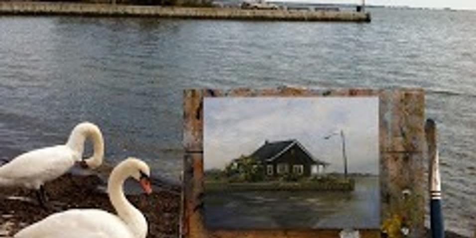 PAINT THE TOWN Art Exhibit & Sale  Local Scenes