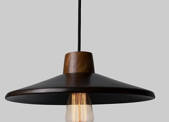 Arenal Burnished Clay Handmade Pendant Lamp