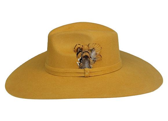 Veronica Mustard Hat