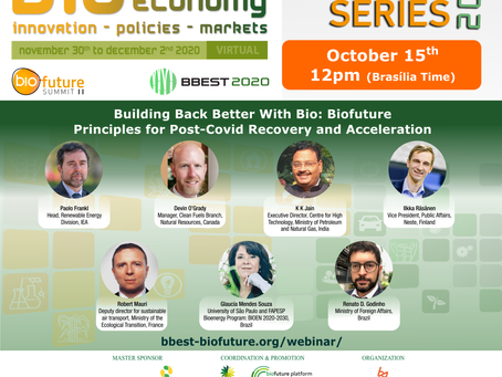 Biofuture Summit II webinar discusses Biofuture Principles for Post-COVID recovery with Bio